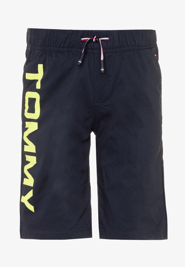 PULL ON LOGO  - Shorts - blue