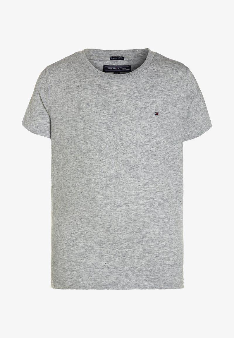 Tommy Hilfiger - BOYS BASIC  - T-shirt - bas - grey heather
