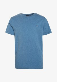 Tommy Hilfiger - BOYS BASIC  - Jednoduché triko - dark allure heather - 0