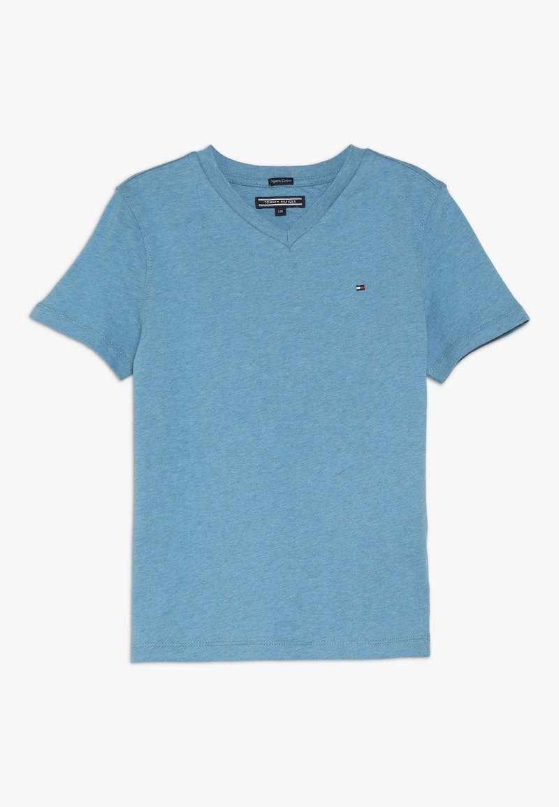 Tommy Hilfiger - BOYS BASIC  - Basic T-shirt - royalblau