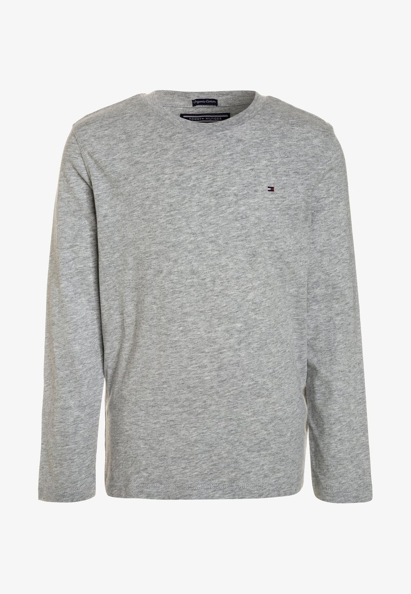 Tommy Hilfiger - BOYS BASIC  - Long sleeved top - grey heather