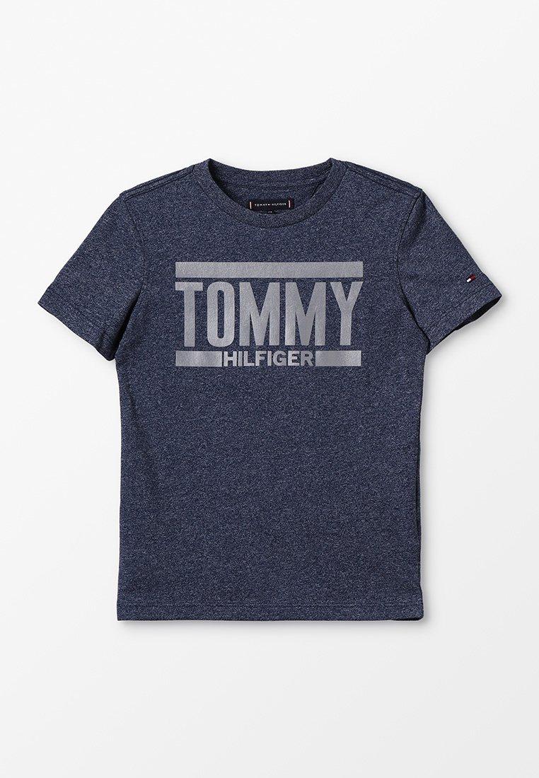 Tommy Hilfiger - ESSENTIAL LOGO TEE - T-Shirt print - blue