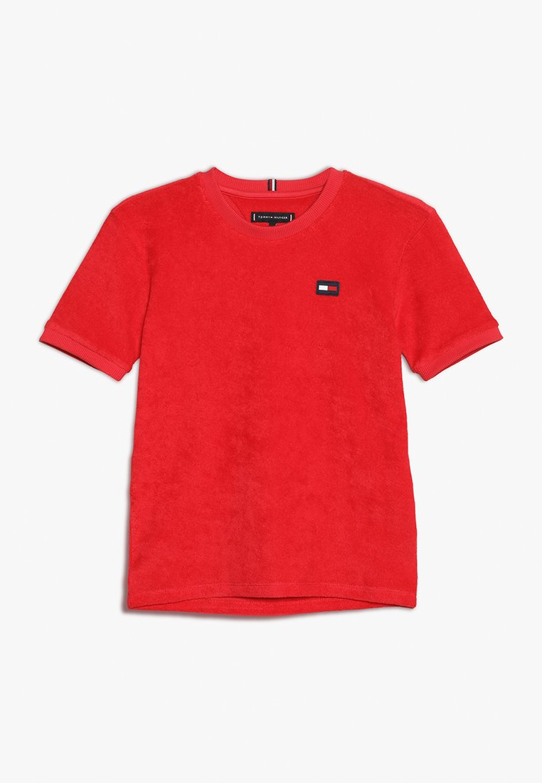 Tommy Hilfiger - TOWELLING - Print T-shirt - red