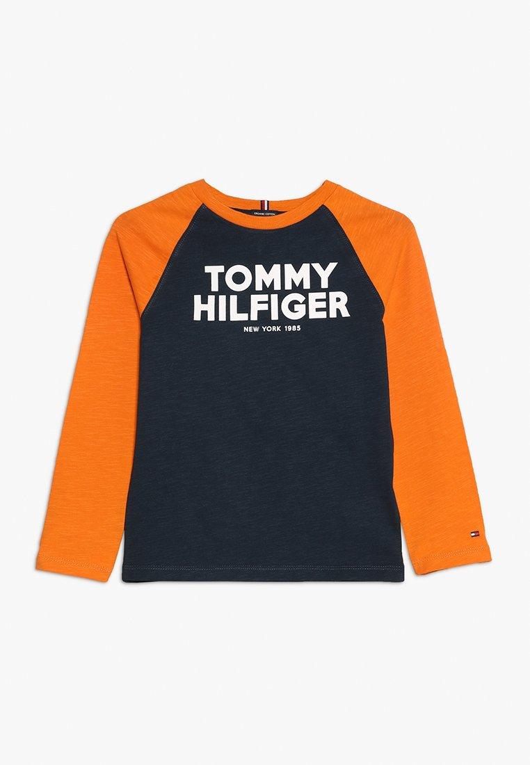 Tommy Hilfiger - COLOR BLOCK RAGLAN TEE - Longsleeve - blue