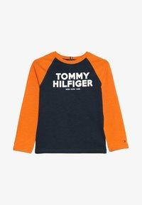 Tommy Hilfiger - COLOR BLOCK RAGLAN TEE - Longsleeve - blue - 3
