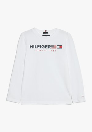 FLAGS GRAPHIC TEE  - Top s dlouhým rukávem - white