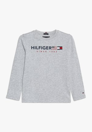 FLAGS GRAPHIC TEE  - Longsleeve - grey