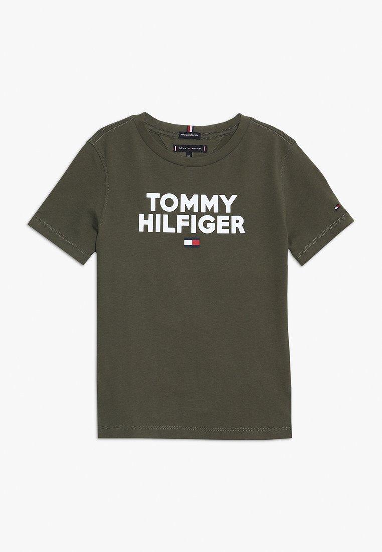 Tommy Hilfiger - LOGO TEE  - T-shirt print - green
