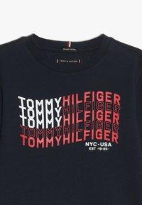 Tommy Hilfiger - FLAG - Long sleeved top - blue - 3