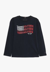 Tommy Hilfiger - FLAG - Long sleeved top - blue - 0
