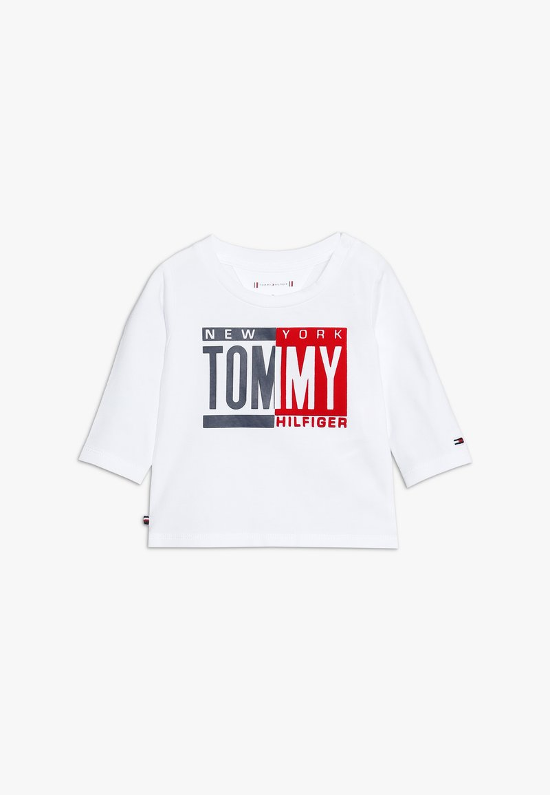 Tommy Hilfiger - BABY BOY TEE - Long sleeved top - bright white