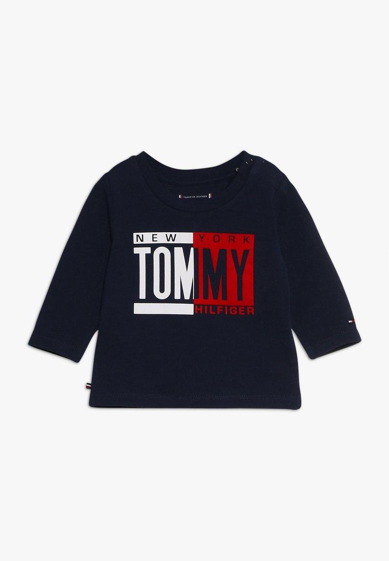 Tommy Hilfiger - BABY BOY TEE - Camiseta de manga larga - black iris