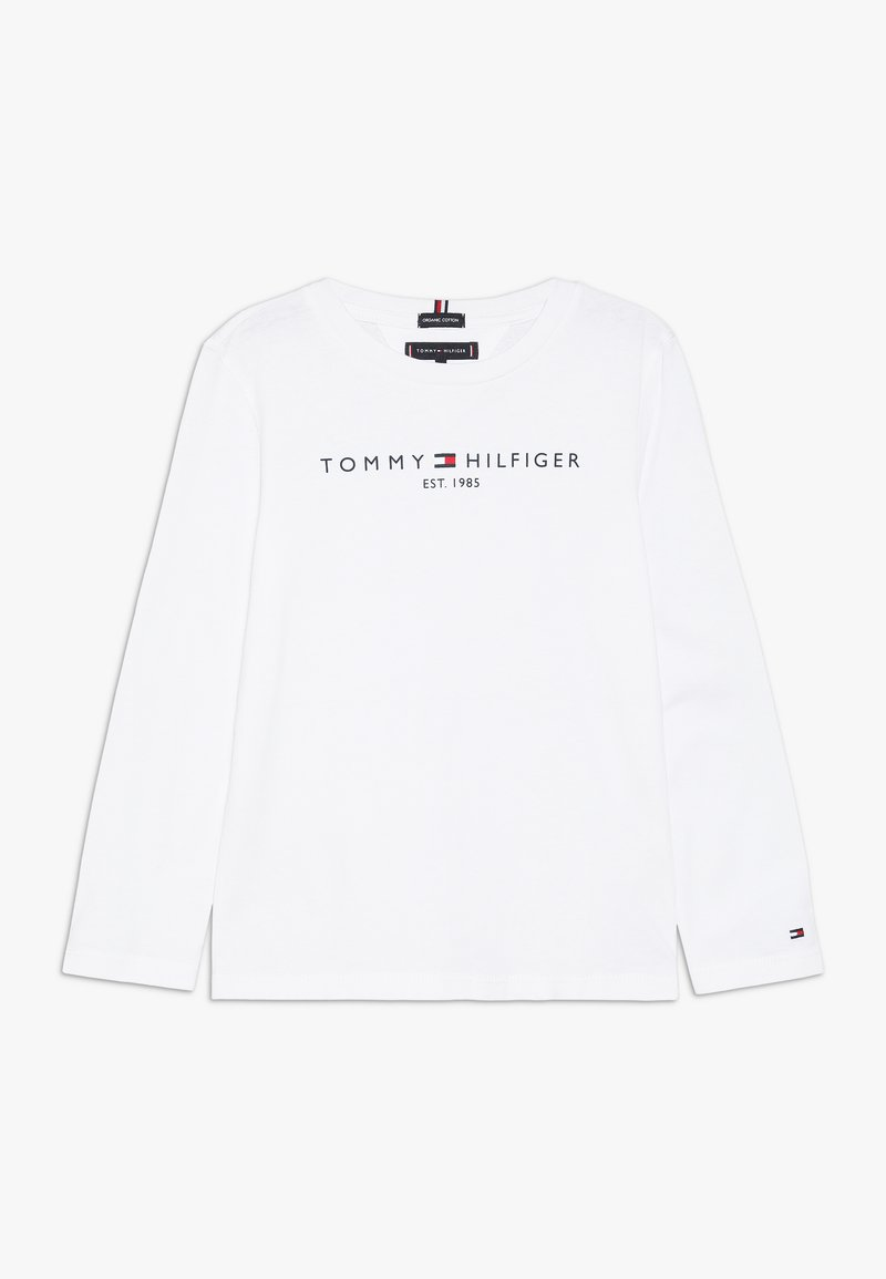Tommy Hilfiger - ESSENTIAL - Long sleeved top - white