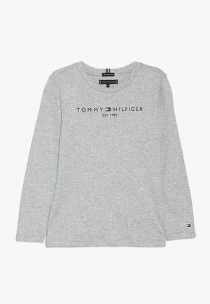 ESSENTIAL - T-shirt à manches longues - grey