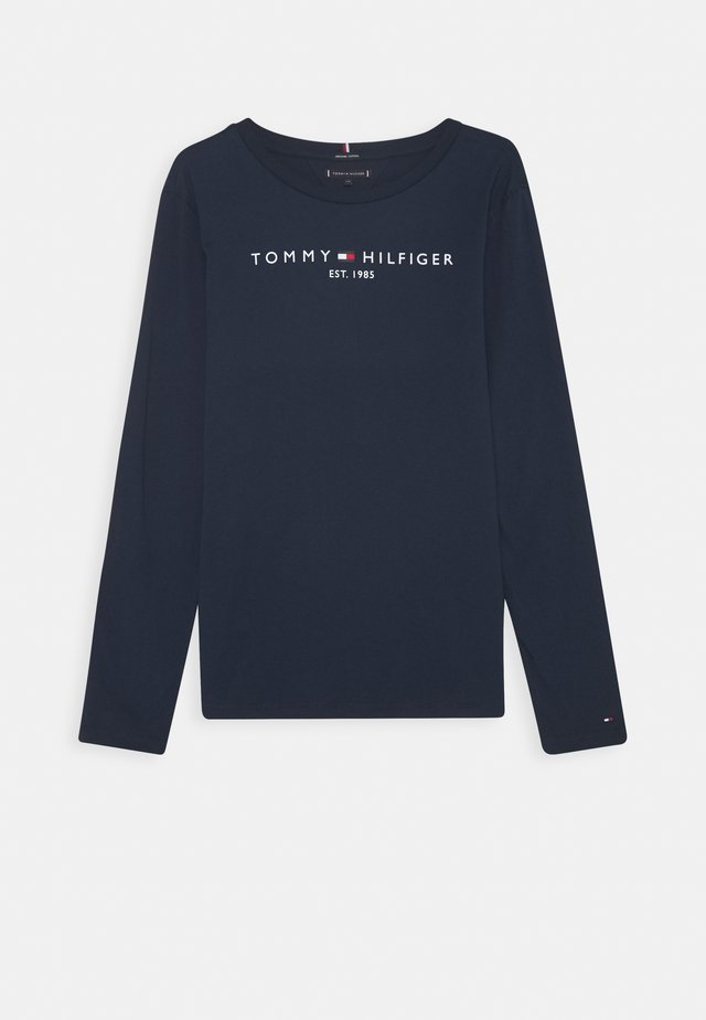 ESSENTIAL TEE - Long sleeved top - blue