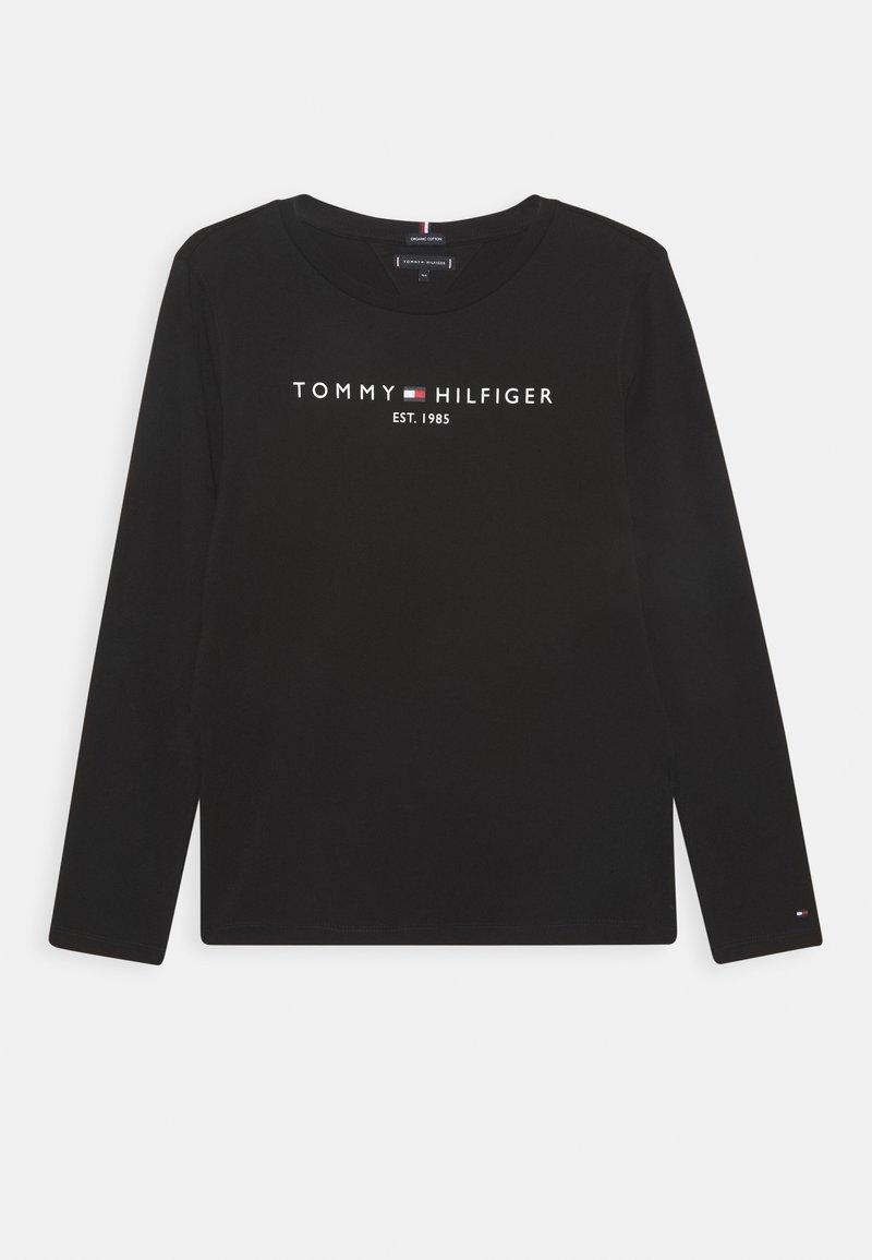Tommy Hilfiger - ESSENTIAL TEE - Longsleeve - black
