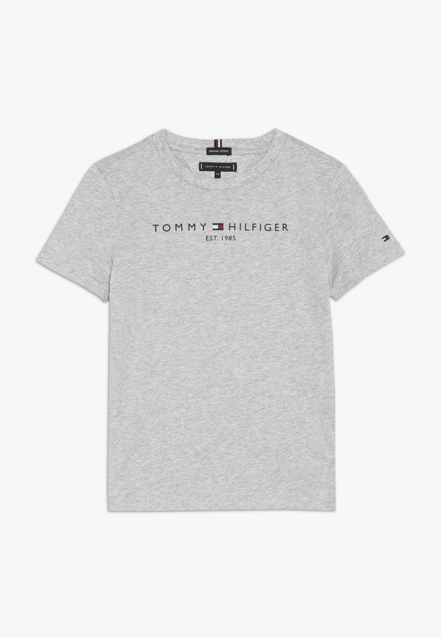 ESSENTIAL TEE - T-shirt z nadrukiem - grey