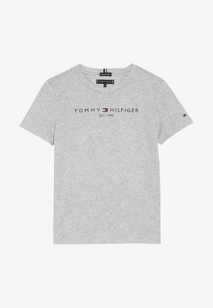 ESSENTIAL TEE - Print T-shirt - grey
