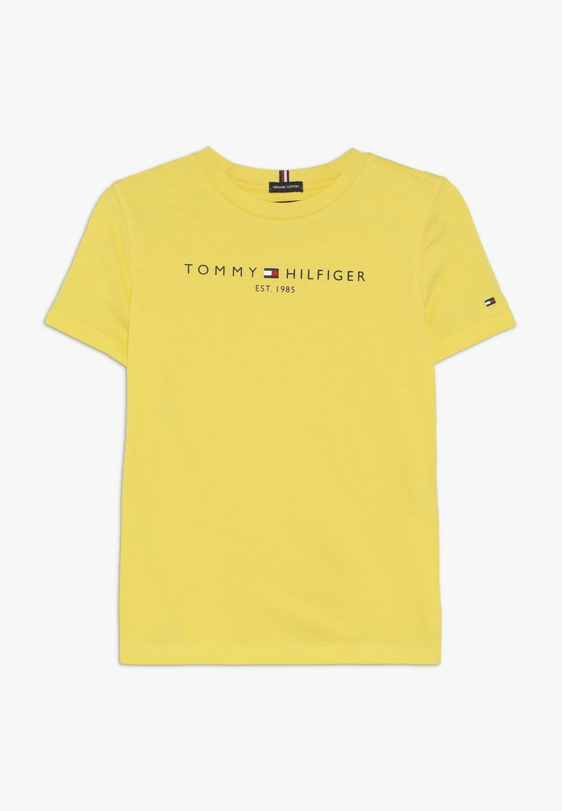 Tommy Hilfiger - ESSENTIAL TEE - T-shirt z nadrukiem - yellow