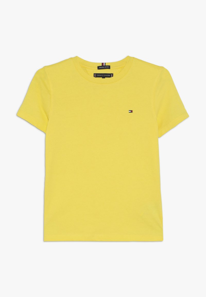 Tommy Hilfiger - ESSENTIAL TEE - Camiseta estampada - yellow
