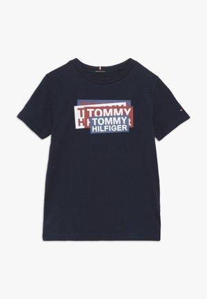 STICKER PRINT TEE - T-shirt print - blue