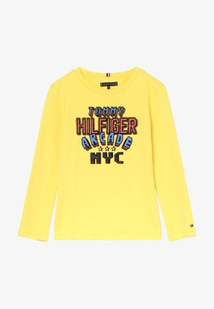 MULTI APPLICATION FUN TEE - Longsleeve - yellow