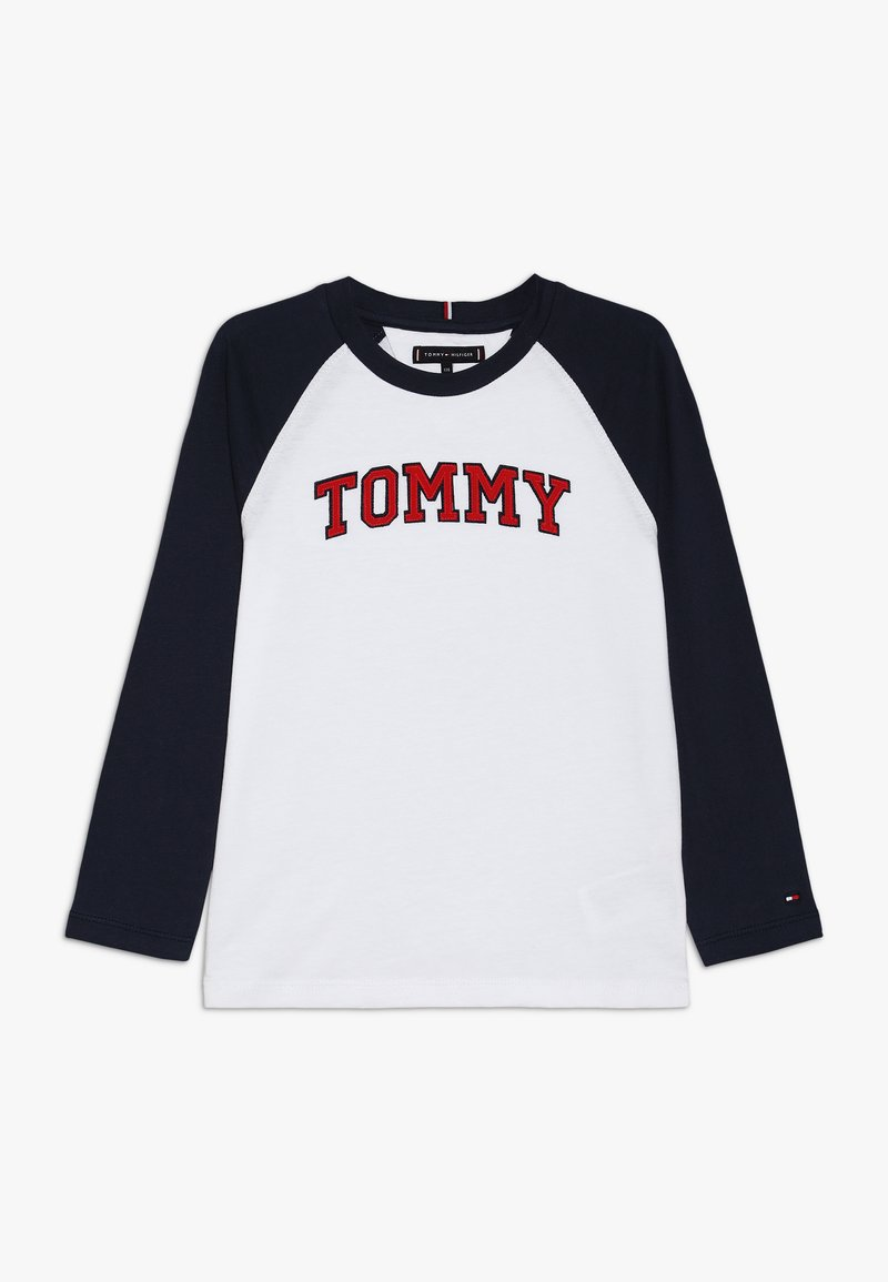 Tommy Hilfiger - APPLIQUE LOGO TEE - Longsleeve - white