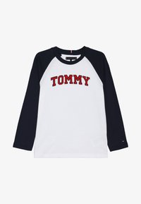 Tommy Hilfiger - APPLIQUE LOGO TEE - Longsleeve - white - 3