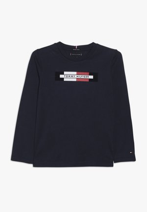 ESSENTIAL LOGO - Long sleeved top - blue