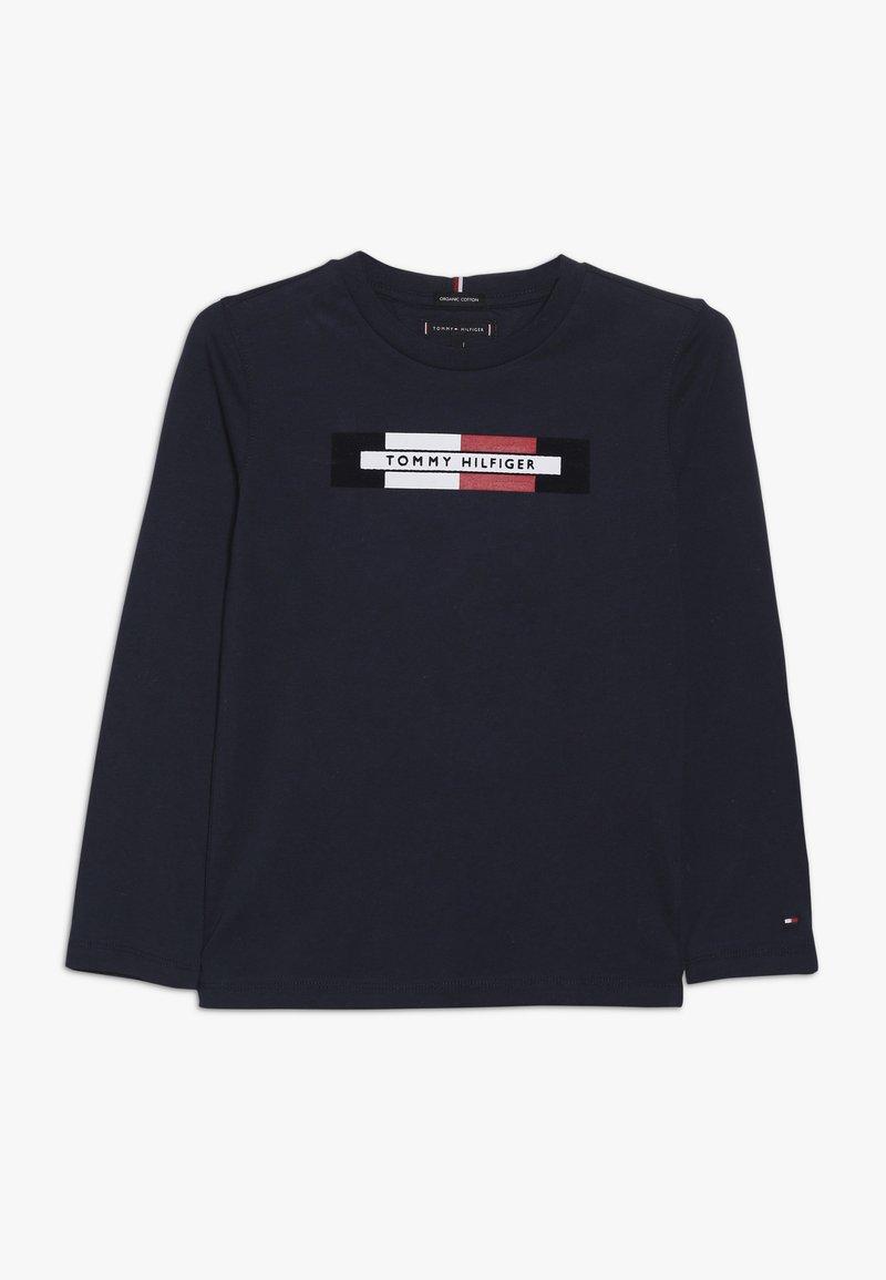 Tommy Hilfiger - ESSENTIAL LOGO - T-shirt à manches longues - blue