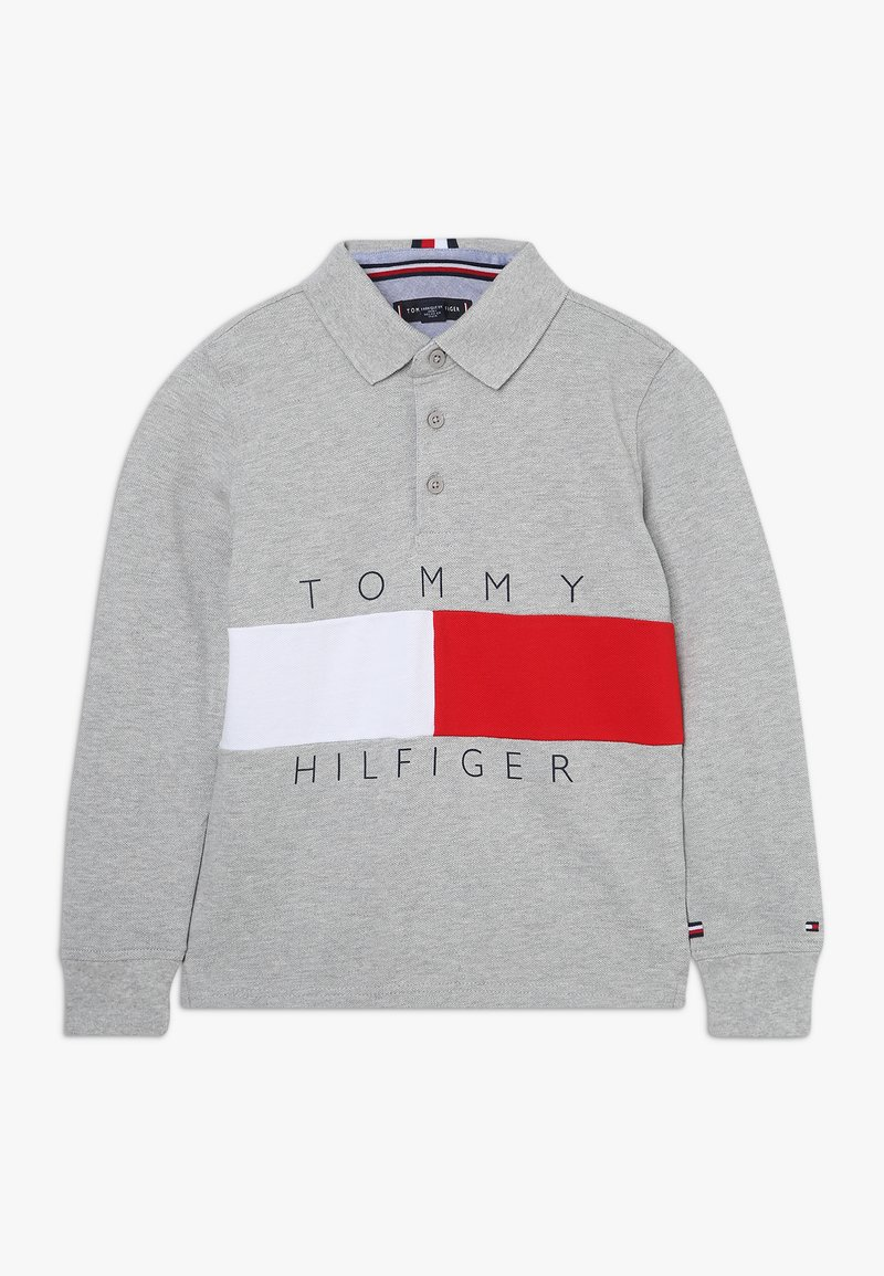 Tommy Hilfiger - COLORBLOCK - Poloshirt - grey