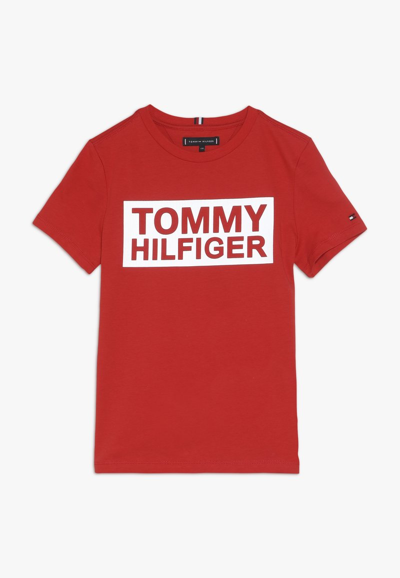 Tommy Hilfiger - SPECIAL TEE - T-shirt med print - red