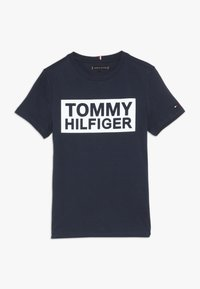 Tommy Hilfiger - SPECIAL TEE - T-shirt med print - blue - 0