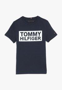 Tommy Hilfiger - SPECIAL TEE - Camiseta estampada - blue - 0