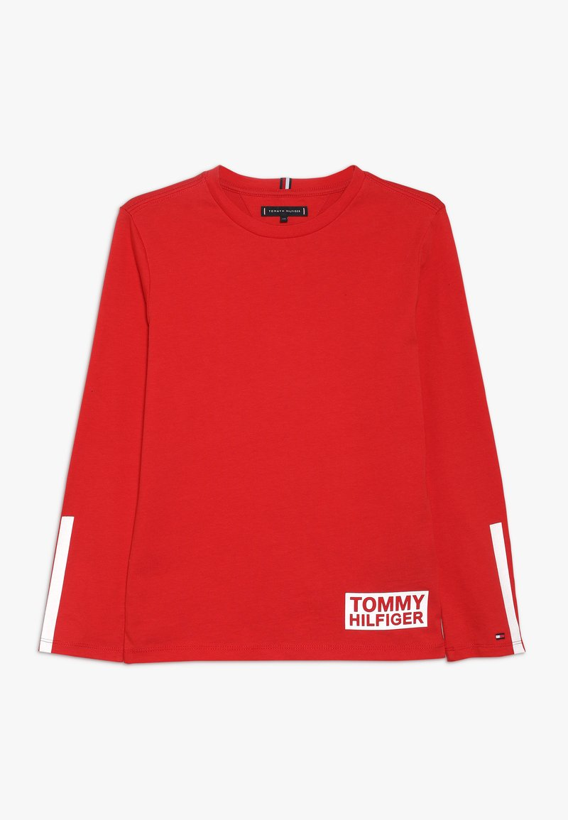 Tommy Hilfiger - ZALANDO SPECIAL TEE - Long sleeved top - red