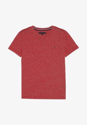 ESSENTIAL JASPE TEE - Basic T-shirt - red