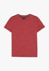 Tommy Hilfiger - ESSENTIAL JASPE TEE - Basic T-shirt - red - 0