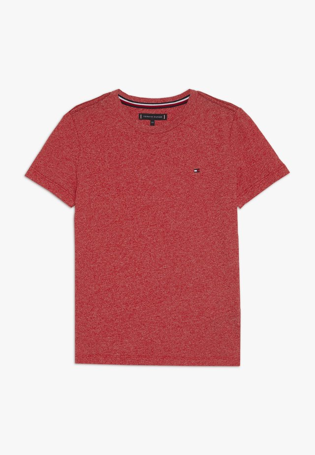 ESSENTIAL JASPE TEE - Basic T-shirt - red