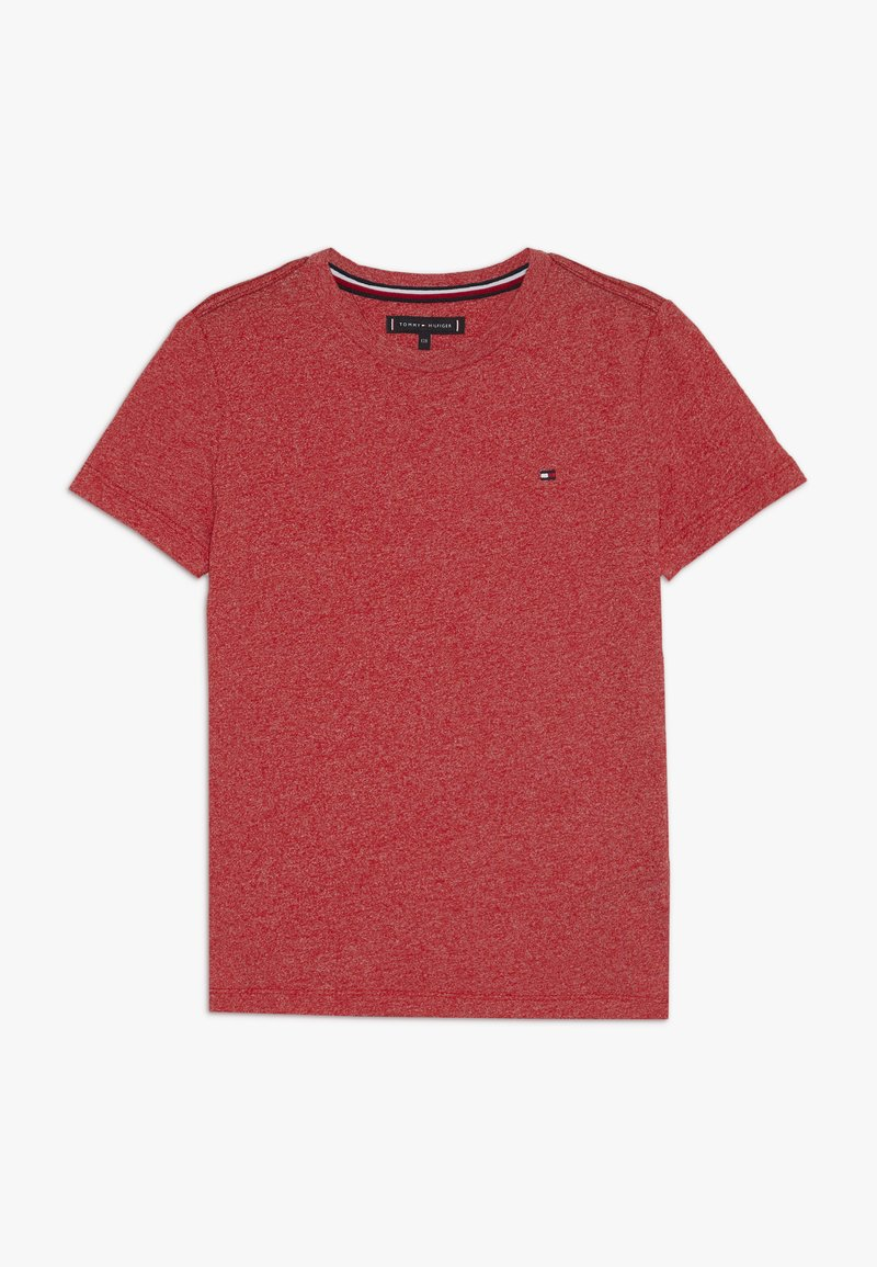 Tommy Hilfiger - ESSENTIAL JASPE TEE - Basic T-shirt - red