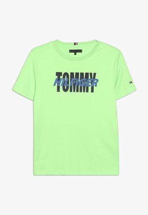 ALPINE TEE - Print T-shirt - green