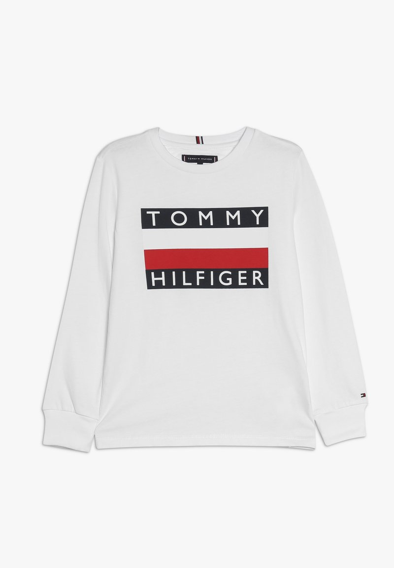 Tommy Hilfiger - ESSENTIAL TEE - Maglietta a manica lunga - white