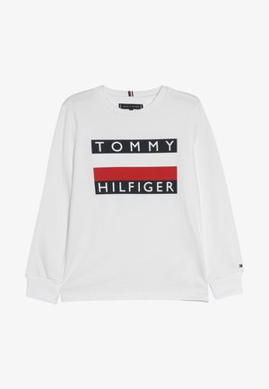 ESSENTIAL TEE - T-shirt à manches longues - white