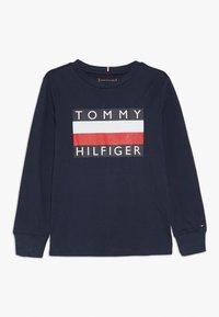 Tommy Hilfiger - ESSENTIAL TEE - Bluzka z długim rękawem - blue - 0
