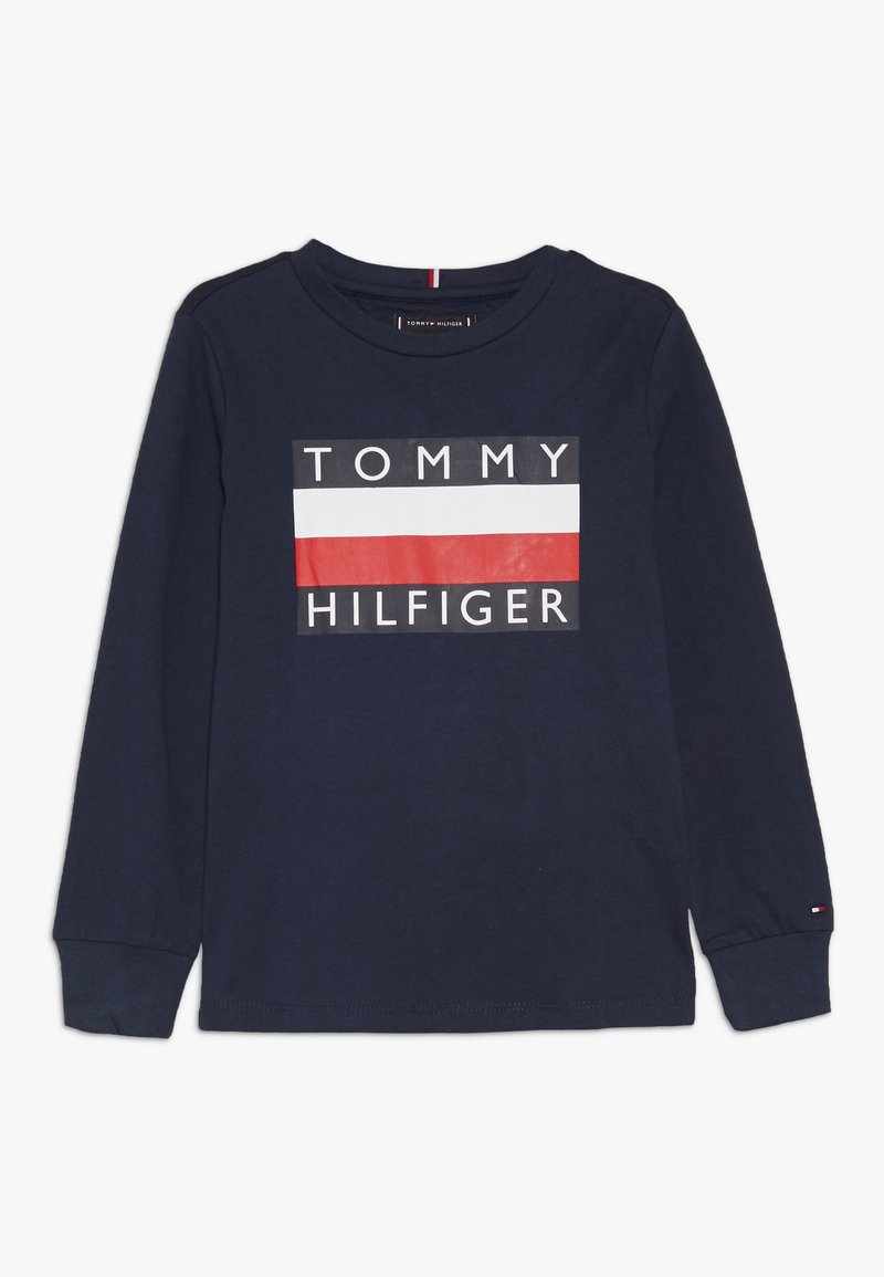 Tommy Hilfiger - ESSENTIAL TEE - Top sdlouhým rukávem - blue