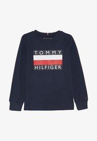 Tommy Hilfiger - ESSENTIAL TEE - Bluzka z długim rękawem - blue - 2