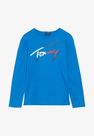 ESSENTIAL SCRIPT  - T-shirt à manches longues - blue