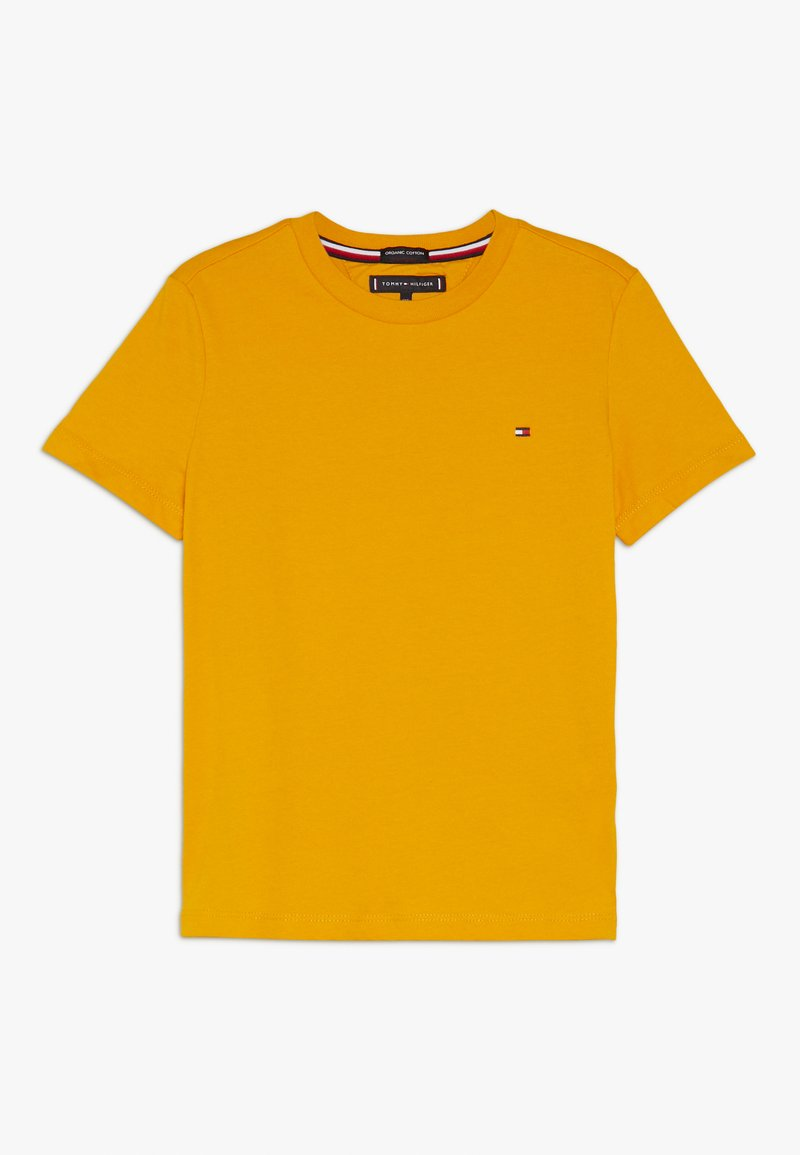Tommy Hilfiger - ESSENTIAL ORIGINAL TEE - Camiseta estampada - yellow