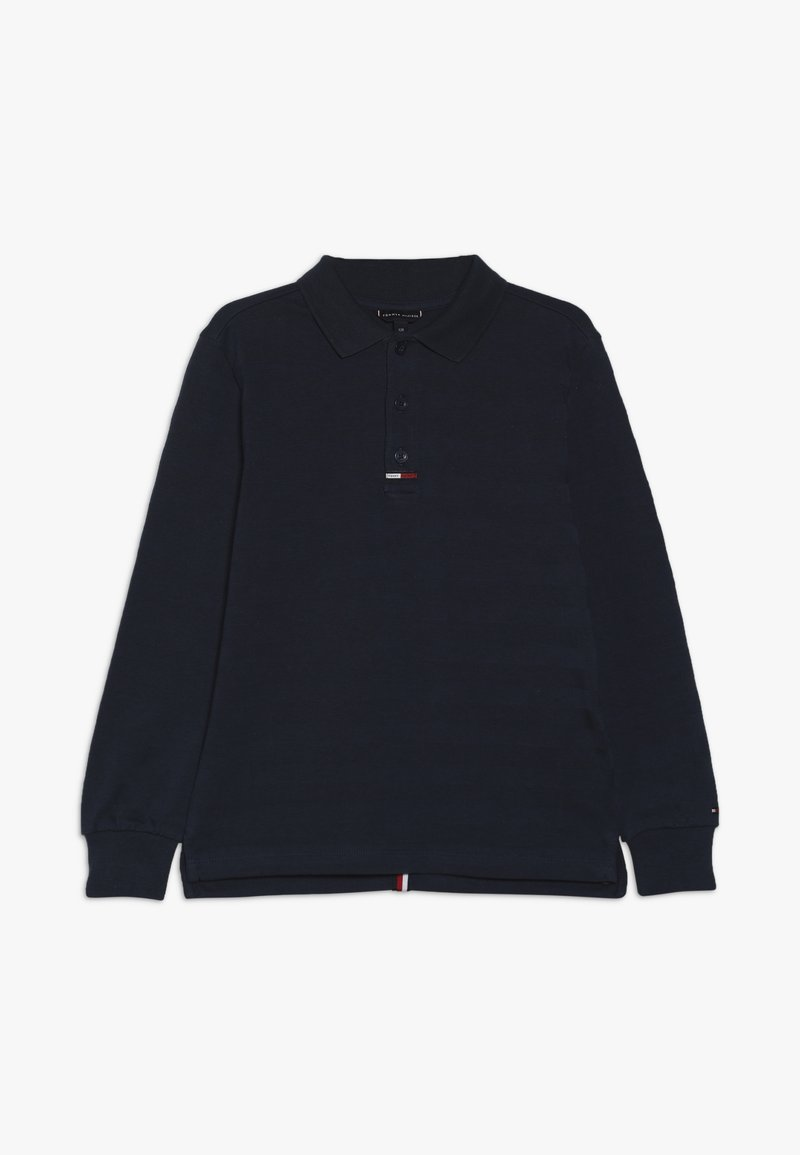 Tommy Hilfiger - ESSENTIAL BACK TAPE - Polo shirt - blue