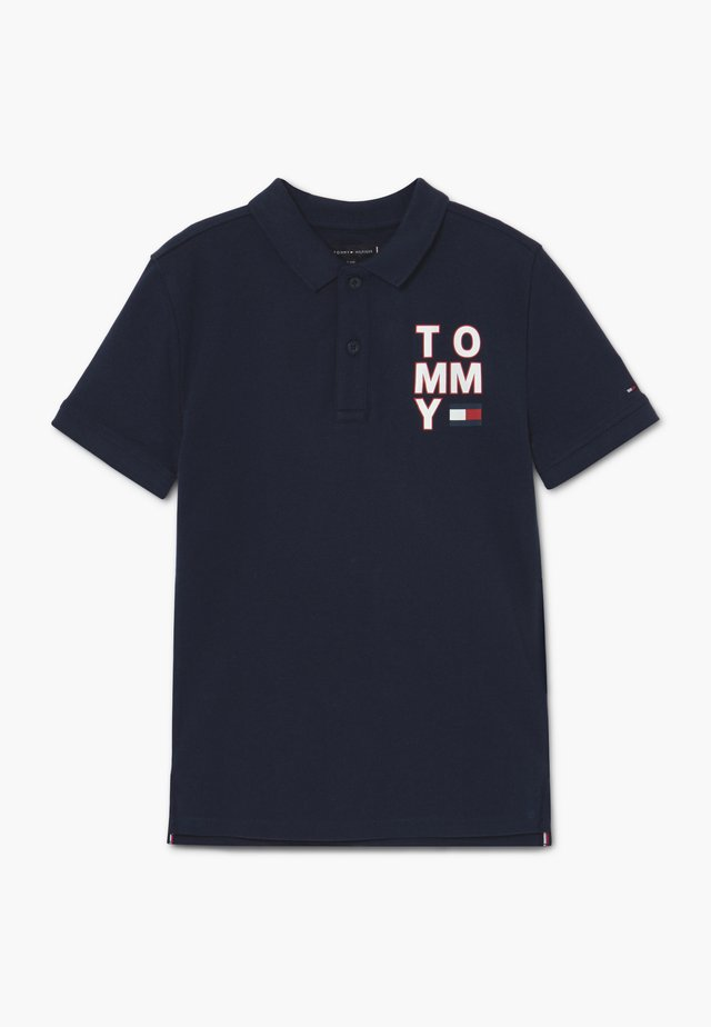 GRAPHIC  - Polo shirt - blue