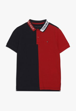 COLORBLOCK - Polo shirt - red